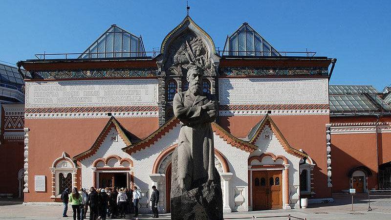 Третьяковская галерея— профессионалы незнают, когда реставрируют поврежденную картину Репина