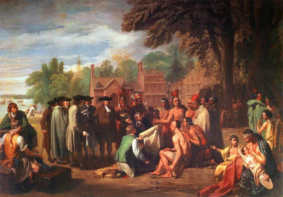 Договор Пенна с индейцами