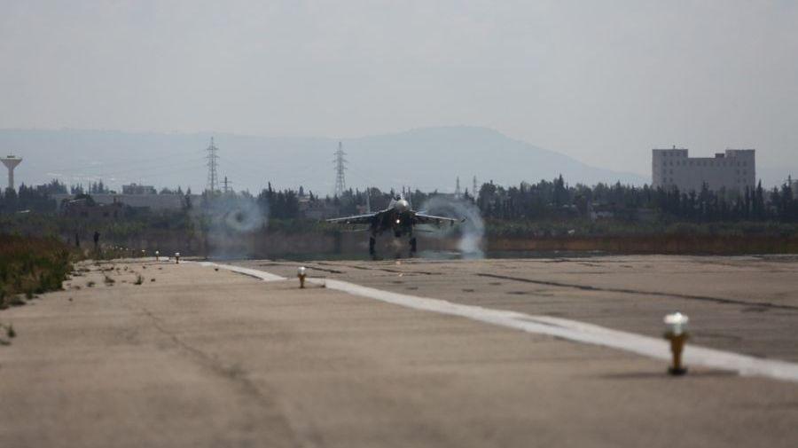 Боевая работа российской авиации на аэродроме Хеймим, Сирия