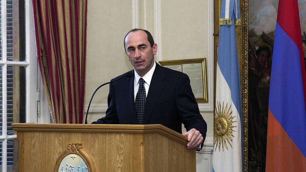 Роберт Кочарян в должности президента