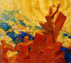 Леонид Терентьевич Чупятов. К солнцу. 1918. (на выставке не представлена)