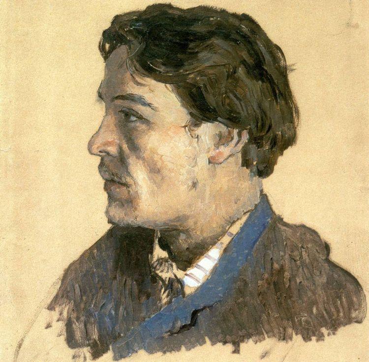 Исаак Левитан. А.П. Чехов. 1885-1886