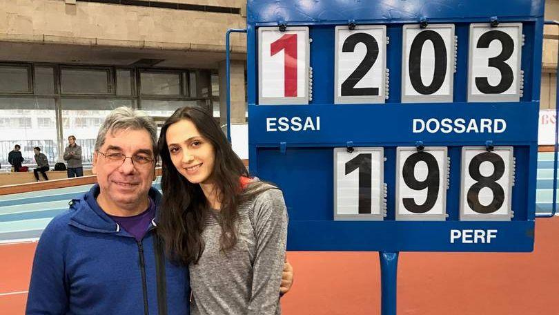 Мария Кучина и ее личный тренер Геннадий Габрилян