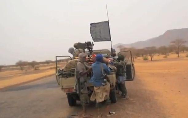 Исламисты на севере Мали, автор: Idrissa Fall, лицензия: Public Domain