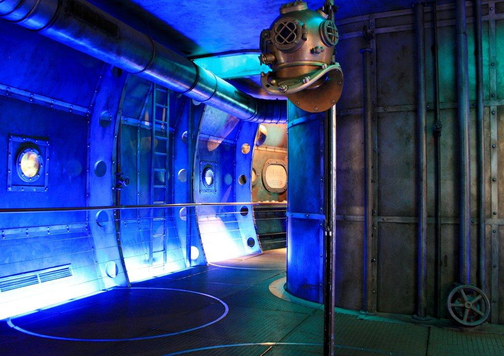подводная лодка парк северное