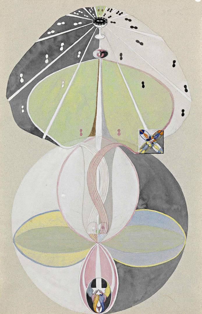 Хильма аф Клинт. Дерево познания № 5. 1913–1915