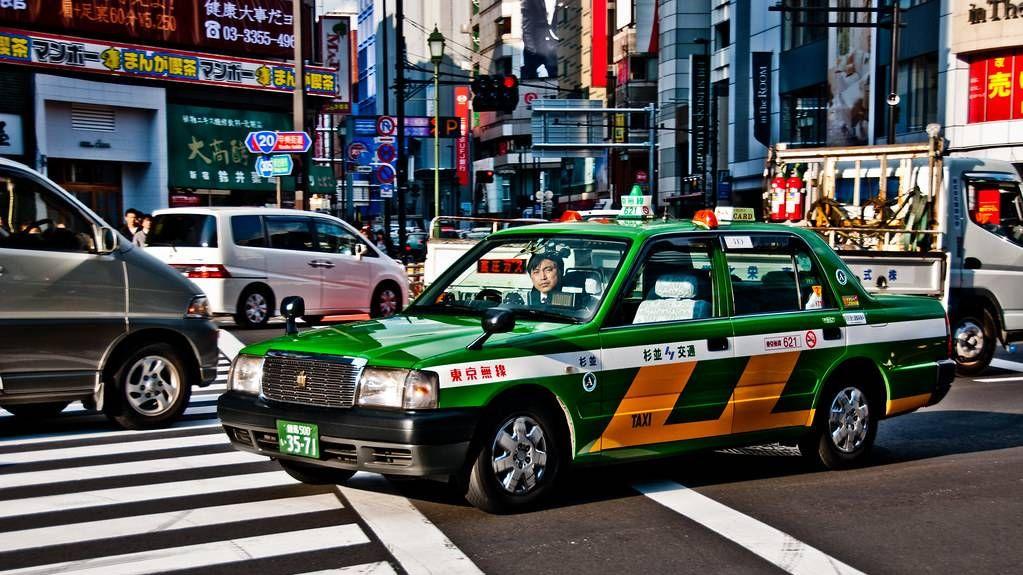 Такси Япония