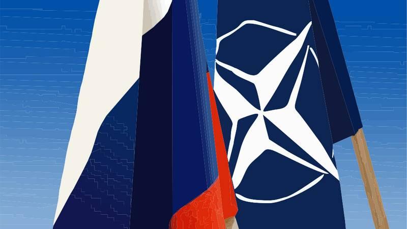 Россия-НАТО Флаги