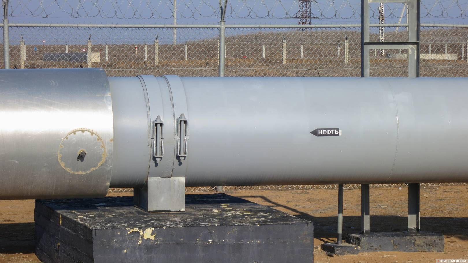 Нефтепровод. Труба