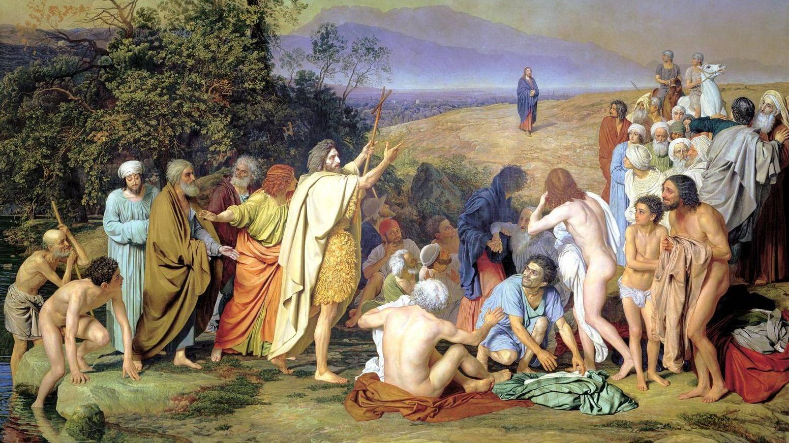 Александр Иванов. Явление Христа народу. (1837—1857)