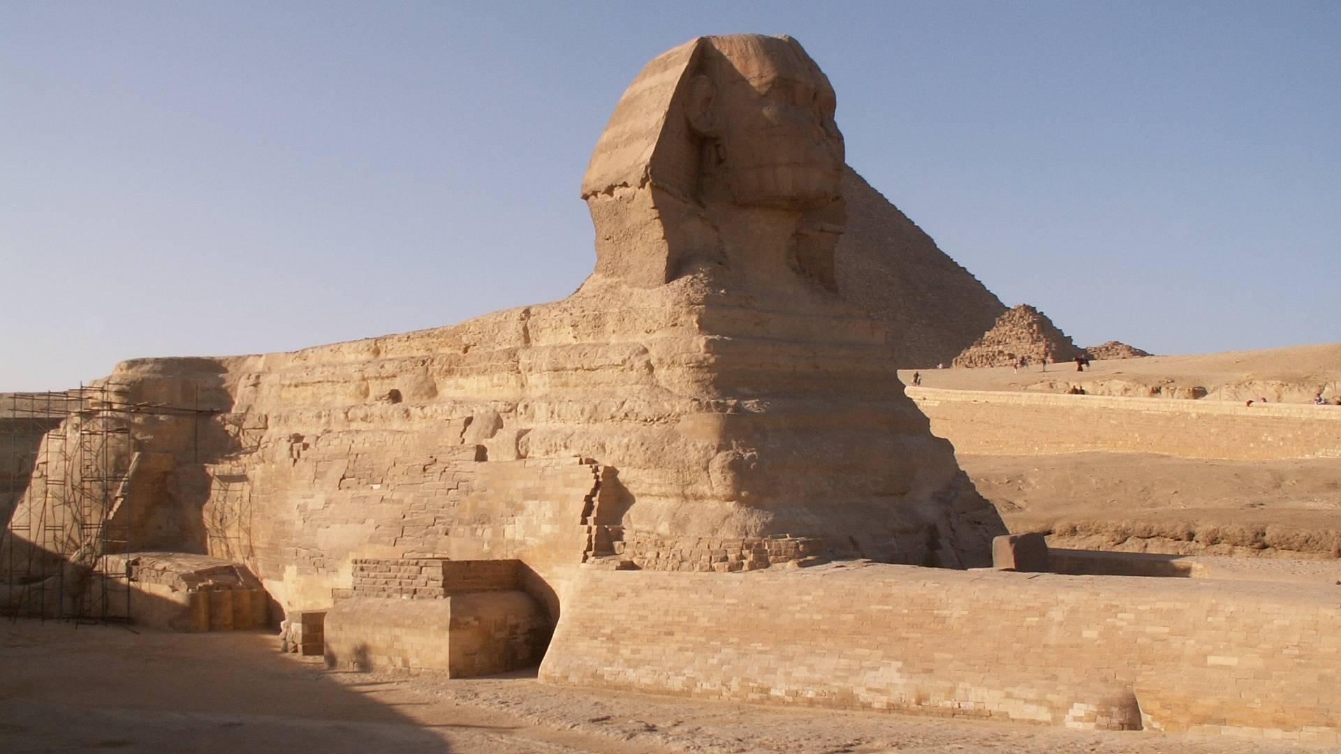Сфинкс. Гиза. Египет