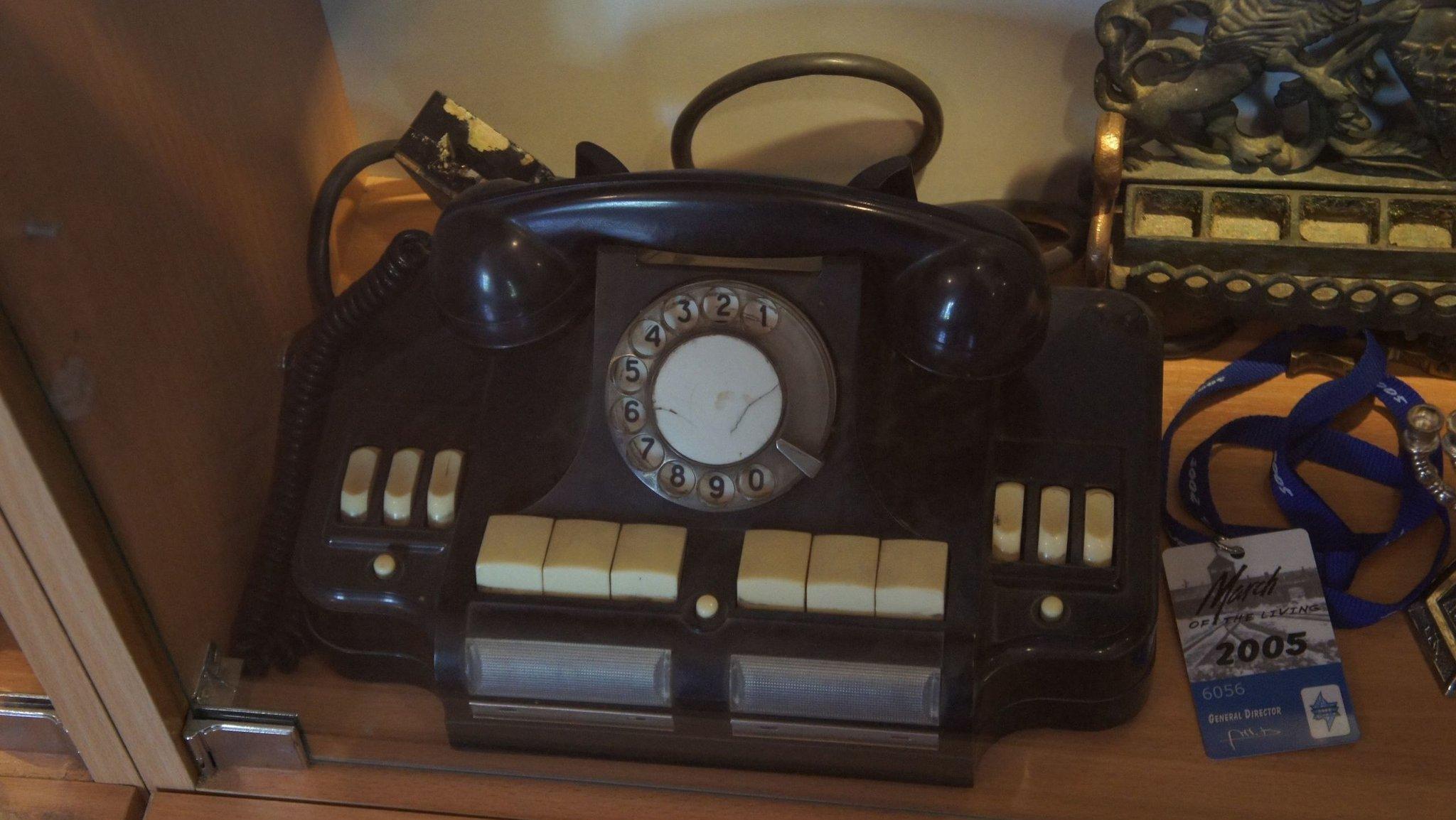Директорский телефон-концентратор КД-6
