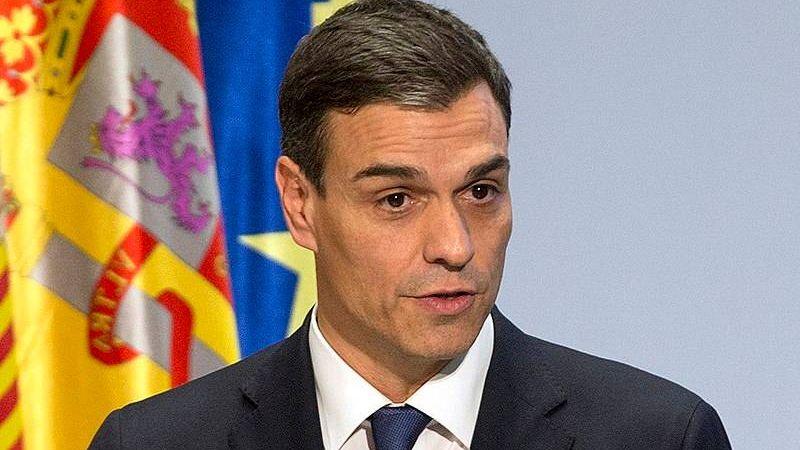 Председатель правительства Испании Педро Санчес