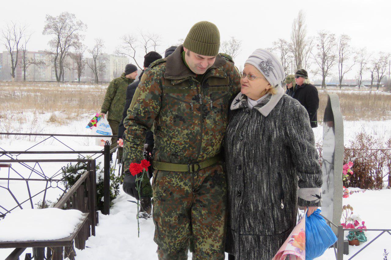 Вольга и Надежда Александровна, мама Игоря Юдина (Болгарина). 17 января 2017 г.