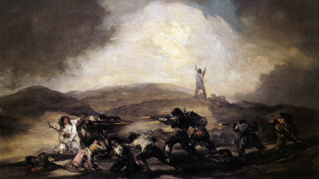 Франсиско Гойя. Разбой. 1794