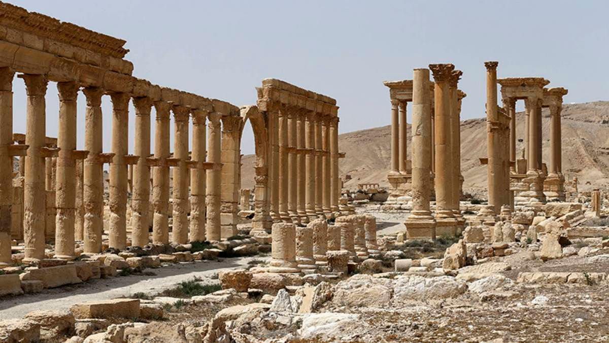 Сирийский город Пальмира