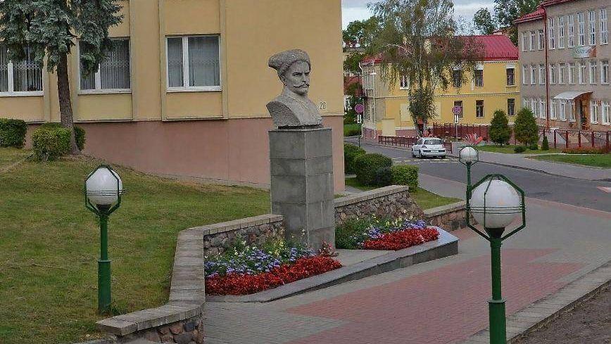В.И. Чапаев. г. Гродно. Белоруссия. 2016