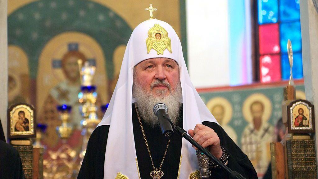 Патриарх Московский ивсея Руси Кирилл