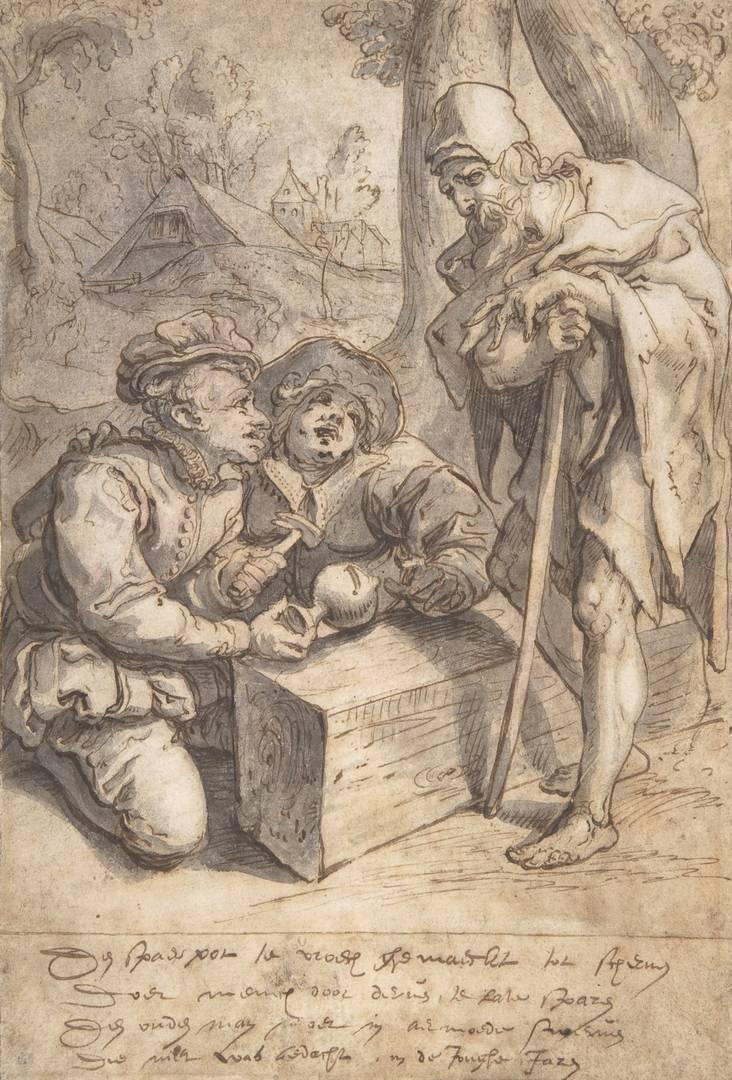Карел ван Мандер I. Богатство и бедность. Середина XVI — начало XVII вв.
