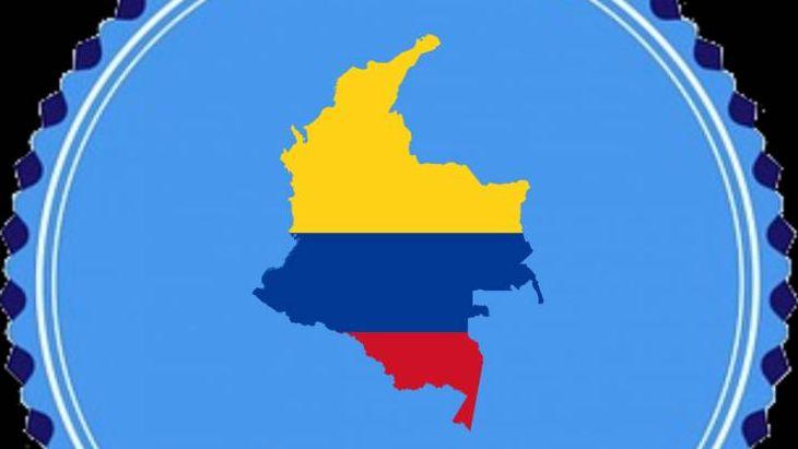 Колумбия в цветах флага
