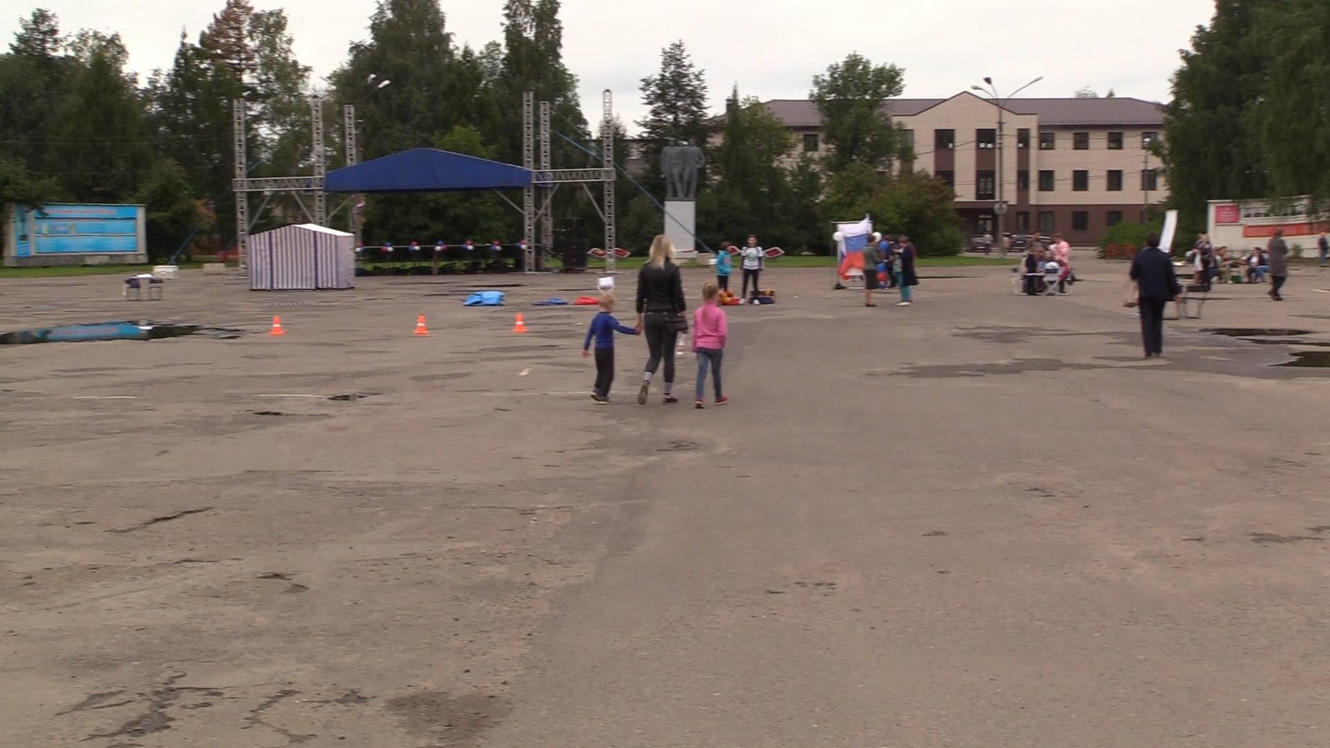 Площадь Советов г. Котлас