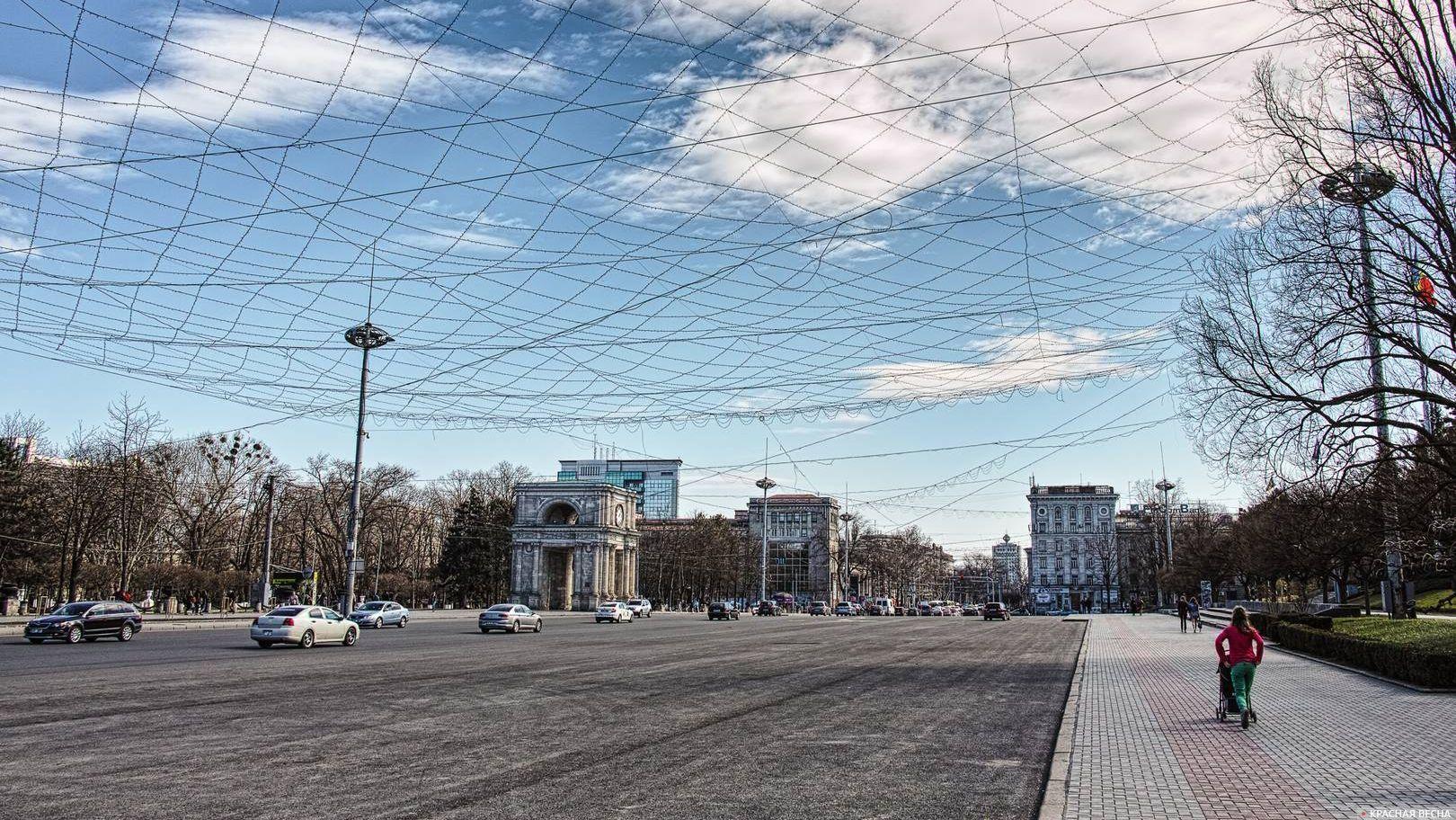 Кишинев. Площадь Великого Национального Собрания