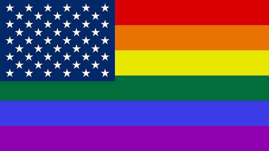 Радужный флаг США