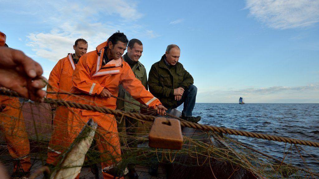 В.Путина официально выдвинули впрезиденты