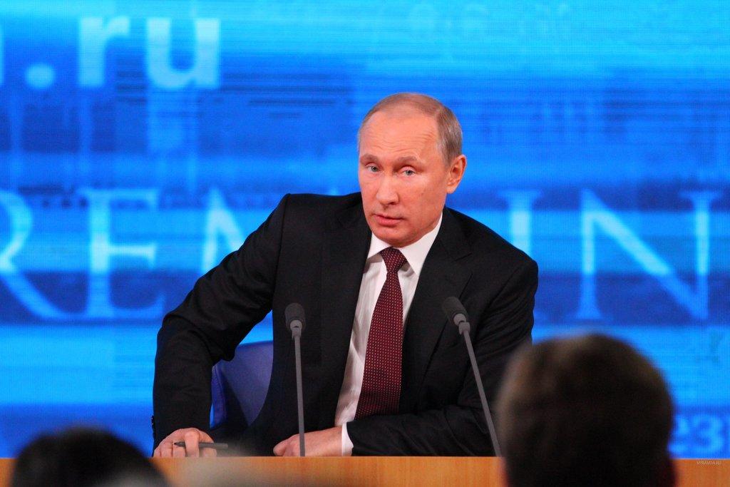 Большая пресс-конференция президента России состоится в декабре