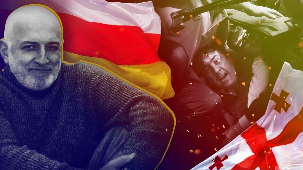 Олег Тезиев. Цхинвал 2008