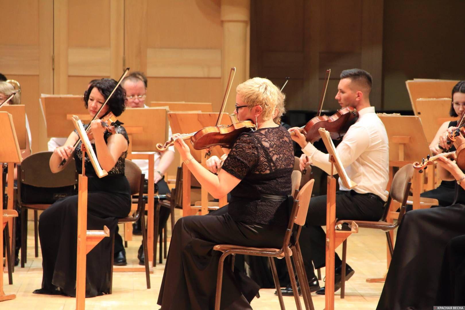 Самарская филармония. Симфонический оркестр. Музыканты