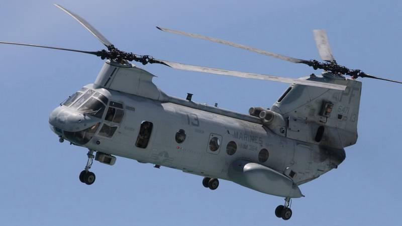 Американский тяжелый вертолет Боинг CH-47 «Чинук»