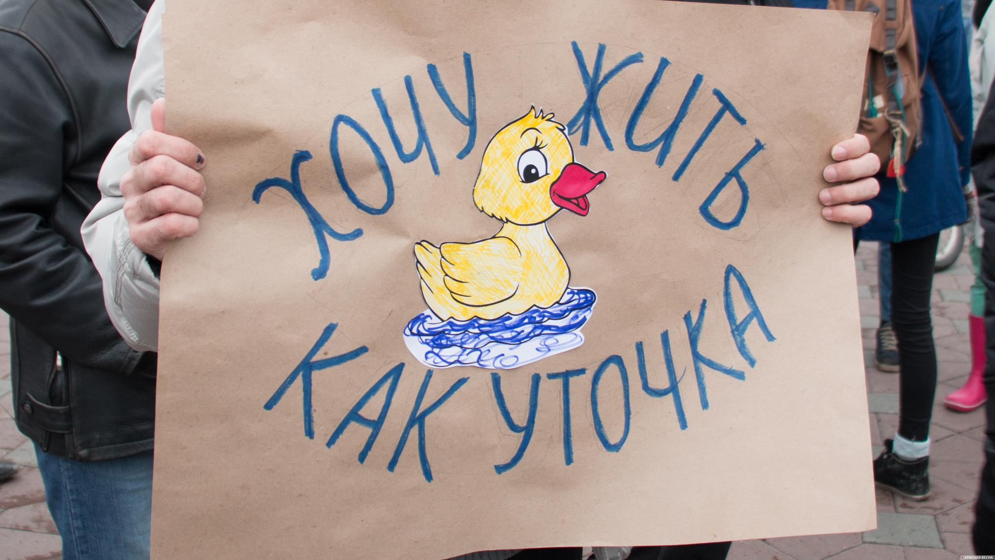 На митинге сторонников  Навального в Екатеринбурге. 26.03.2017 [Андрей Алексеев © ИА Красная Весна]