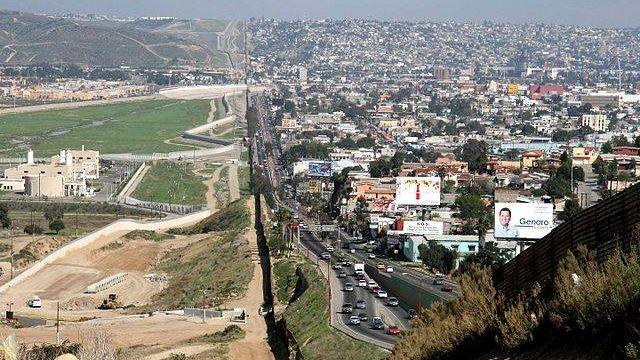 Граница Мексика США