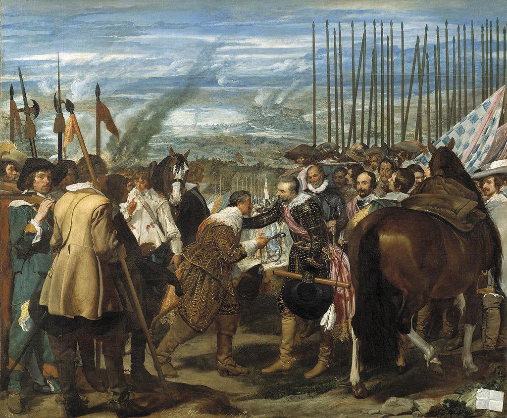 Диего Веласкес. Сдача Бреды. 1634.