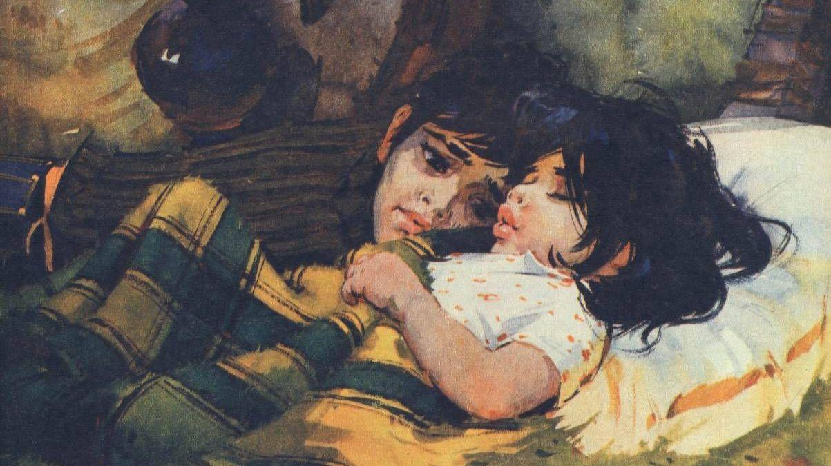 И. Сущенко. Мексиканские дети