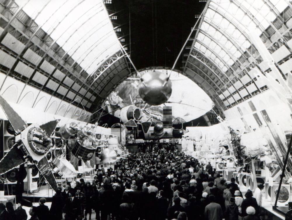 «Спутник-1» в павильоне «Космос», 70-е
