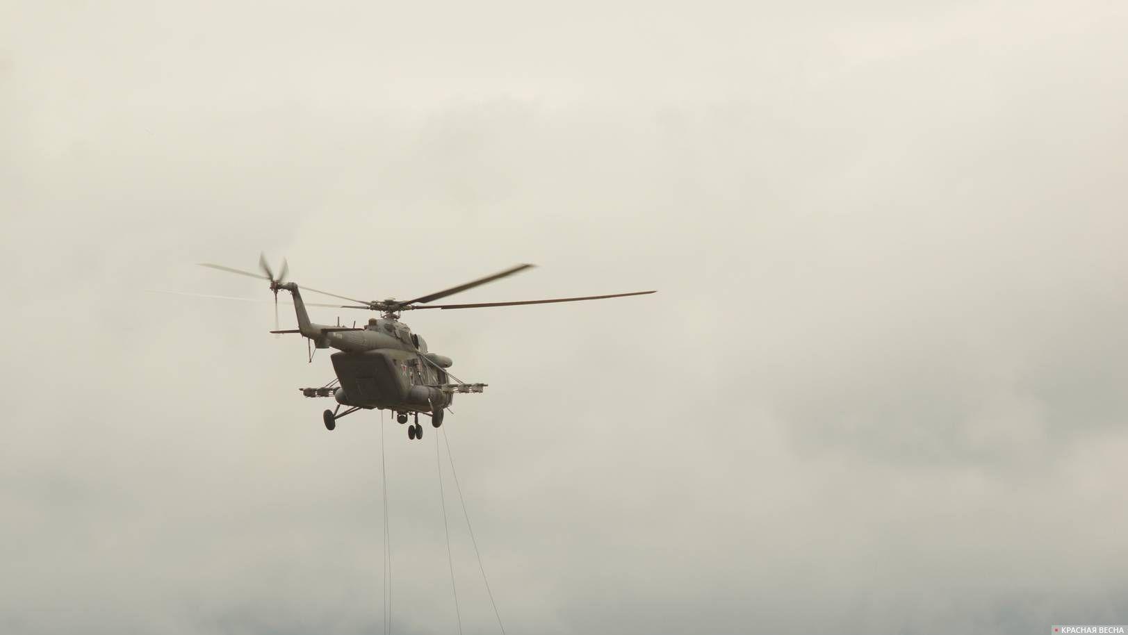 Транспортно-штурмовой вертолет Ми-8 АМТШ