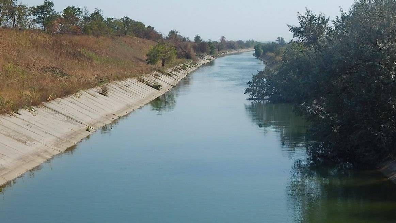 Дамба рядом соккупированным Крымом готова на80%,— управление Северо-Крымского канала