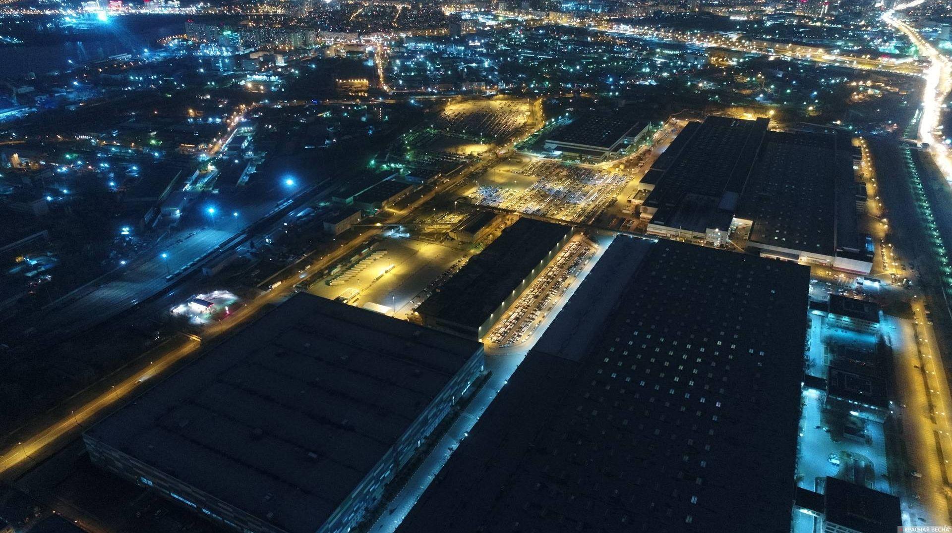 Технопарк на территории АЗЛК. Москва