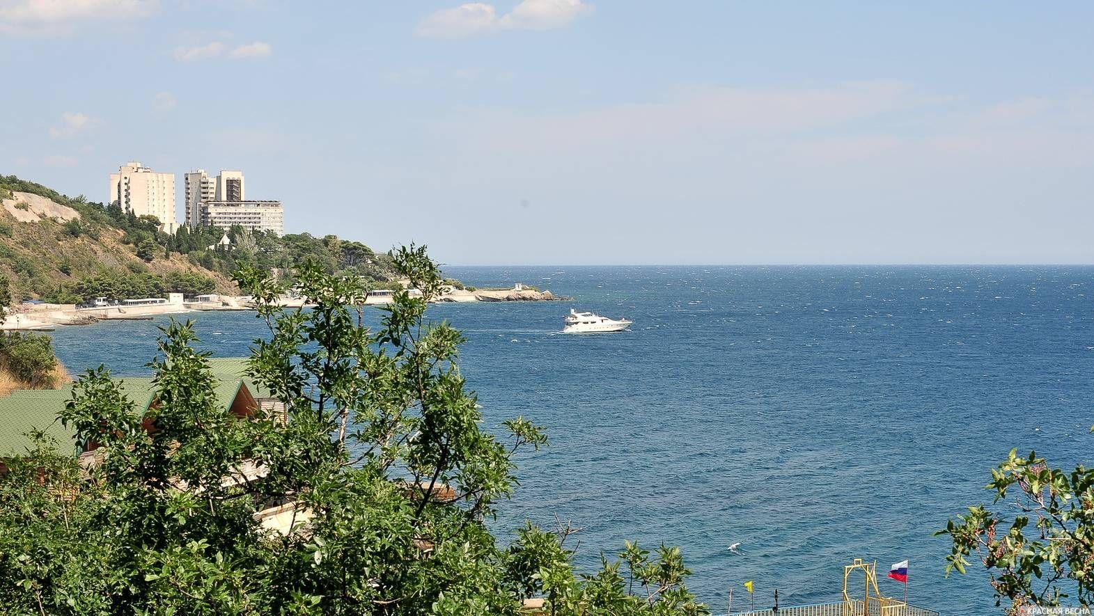 Крымское побережье Черного моря