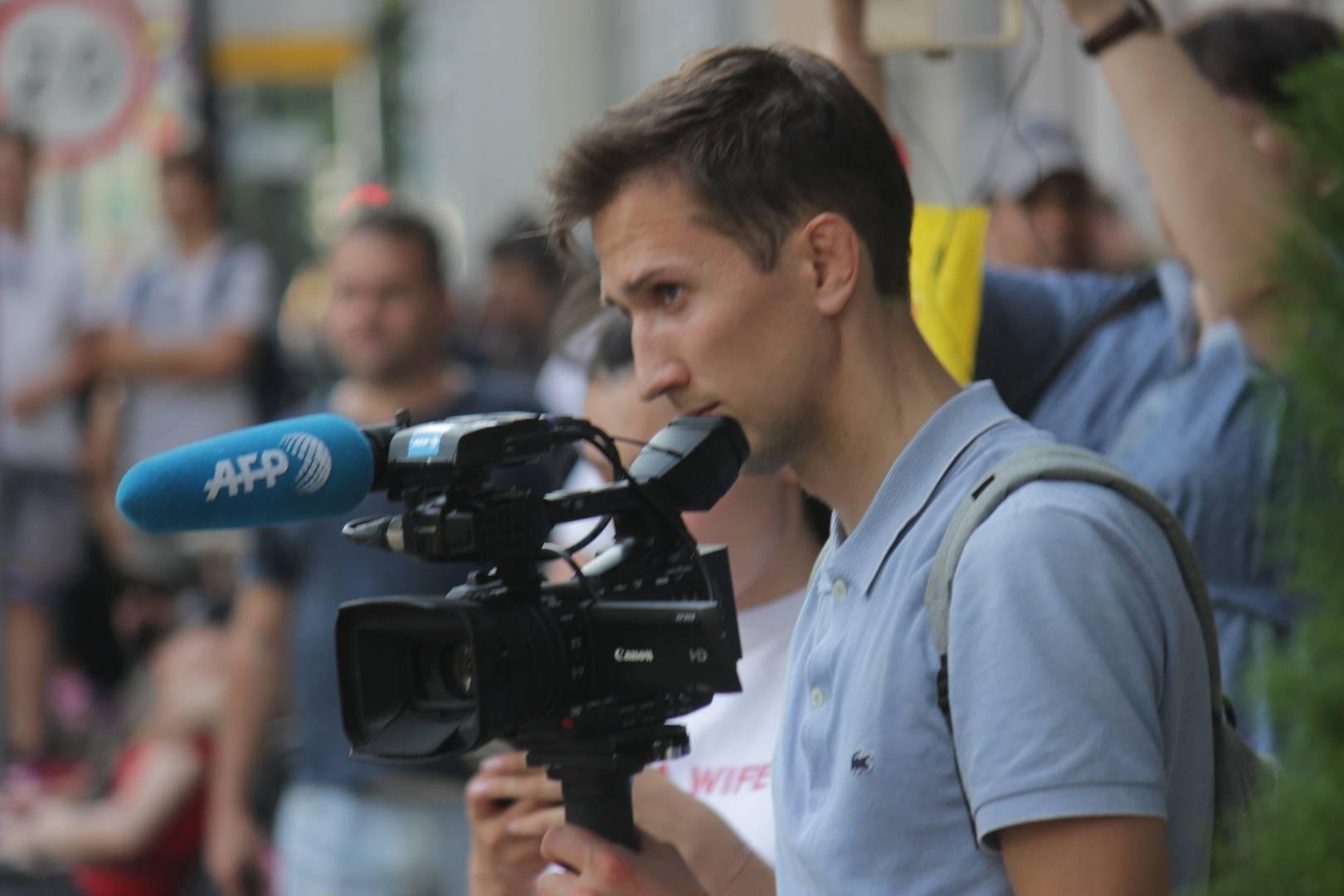 Журналист Агентства Франс Пресс (AFP)