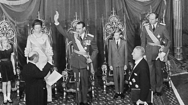 Великий герцог Жан принимает присягу