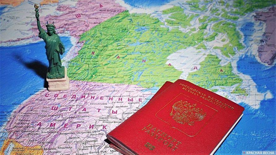Заграничный паспорт. Виза США