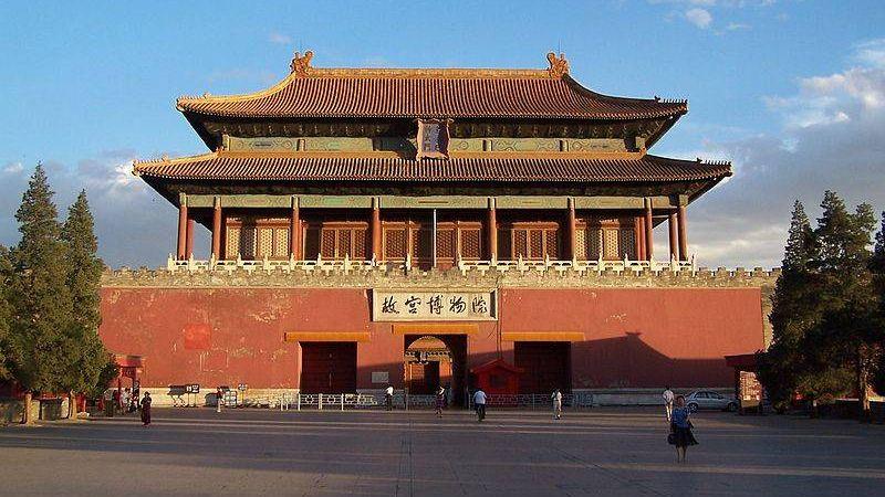 Ворота шенвумен Запретного города, Пекин