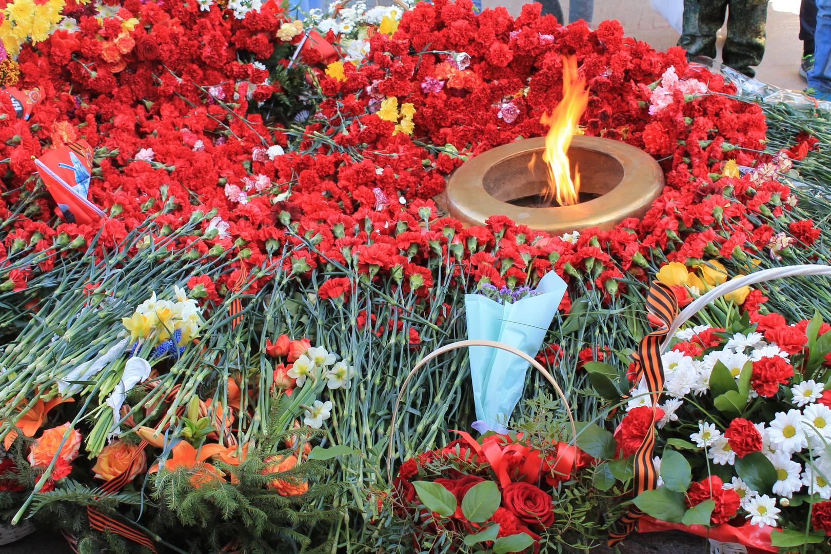Бердск, Новосибирская область. Вечный огонь