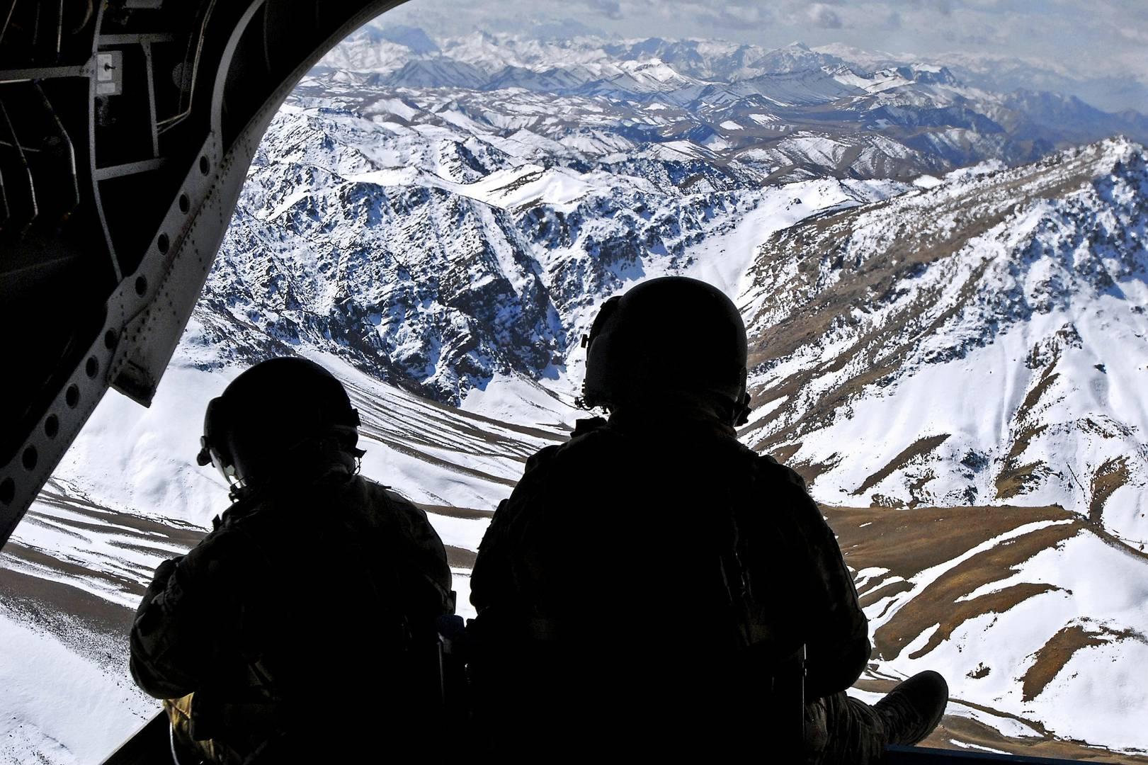 Афганистан, вертолет