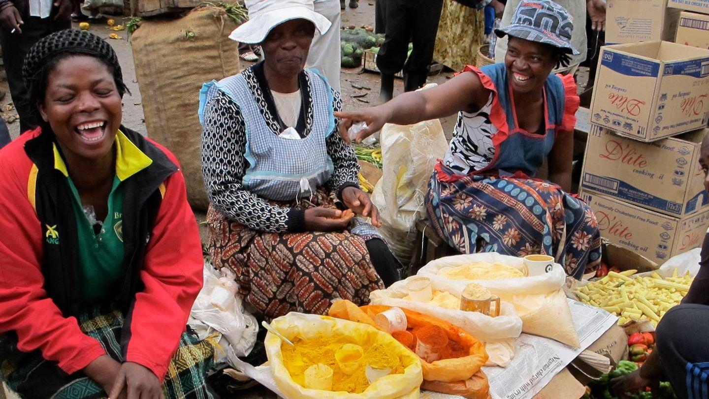 Рынок в Африке