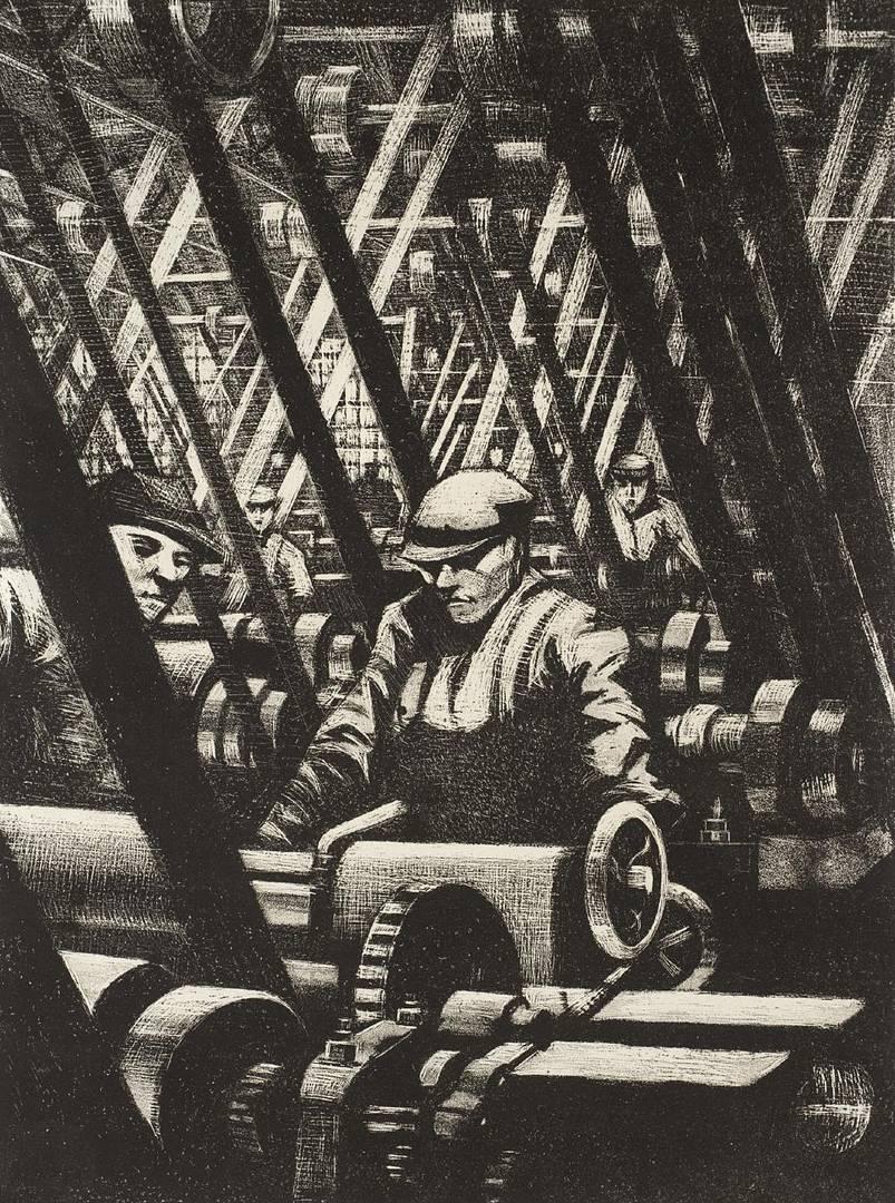 Кристофер Невинсон. Создание двигателя. 1917