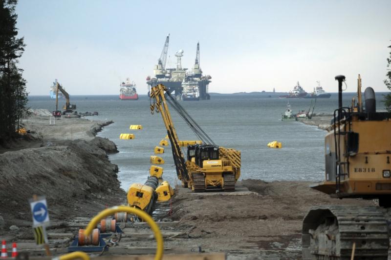 Строительство газопровода [© Пресс-служба Газпрома]